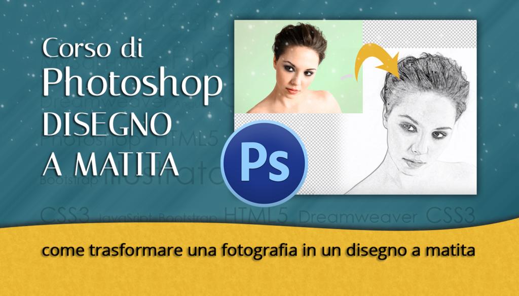 Photoshop DISEGNO A MATITA