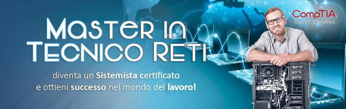 Master in Tecnico Reti | Graphic & Web Design | Banner & Header