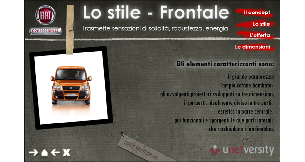 Presentazione Doblò Cargo