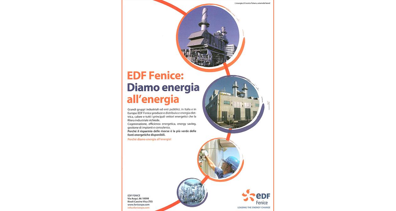 Pubblicità EDF - Rivista