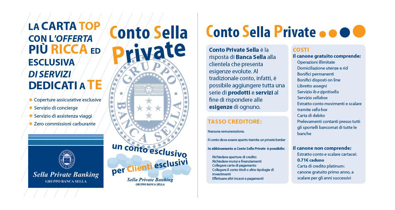 Brochure Banca Sella