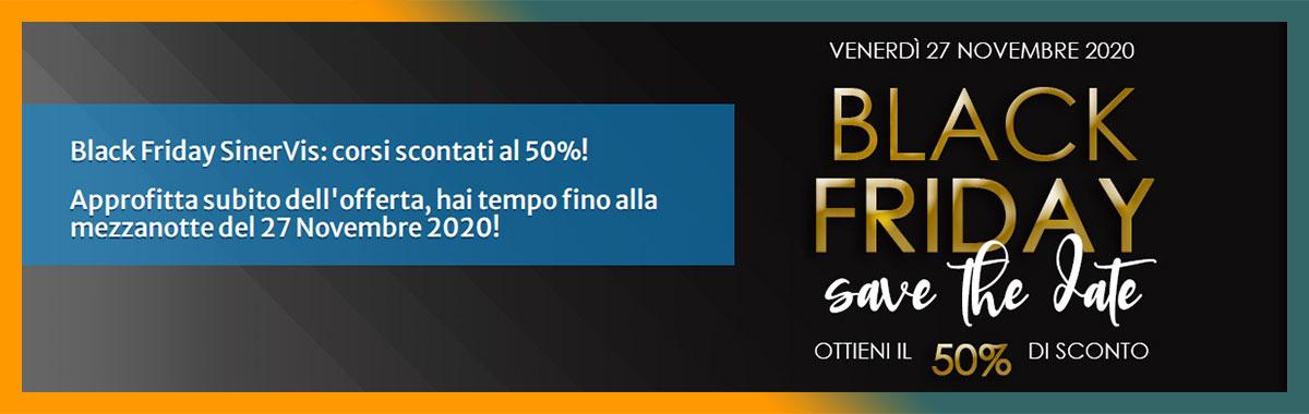Banner Promo Grafica e Formazione SinerVis Black Friday